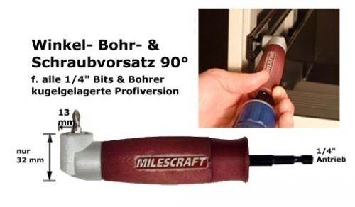Winkelbohr- & Schraubvorsatz