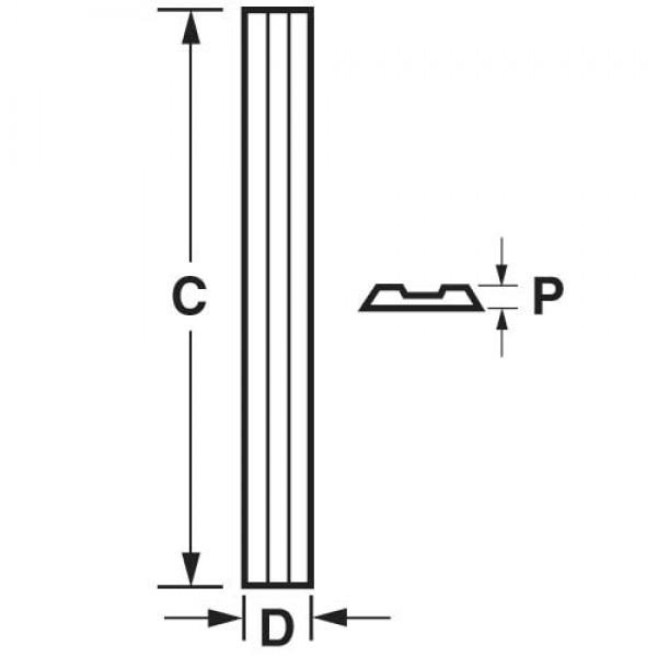 Hobelmesser-Set VHM