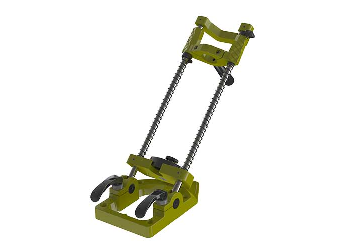 Drill stand swivelling