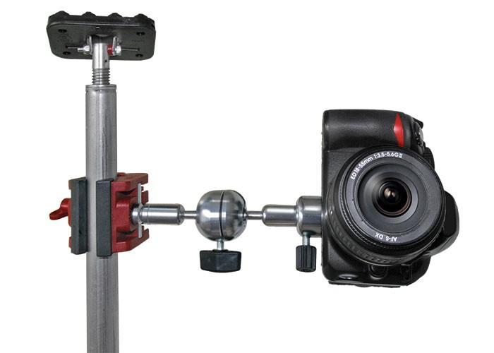 Universalklemme Multiclamp mit Gelenkarm 50 mm