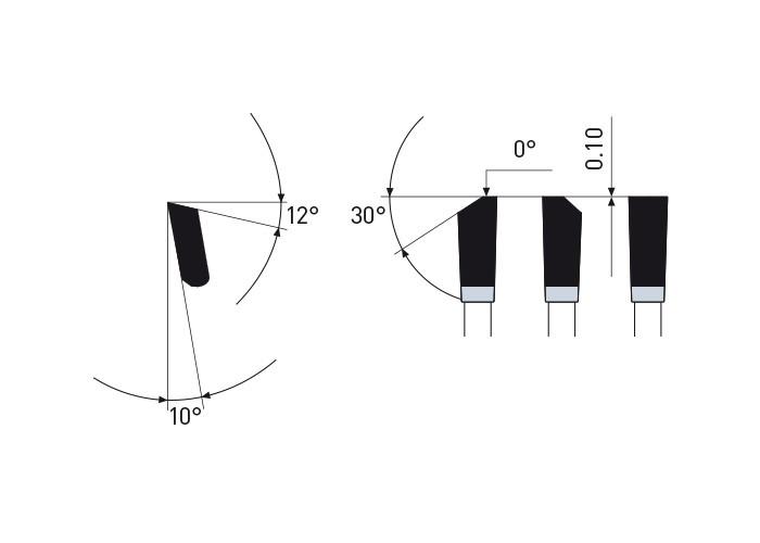 Kreissägeblatt HM 270 x 2,2/1,8 x 30 mm, Z=72