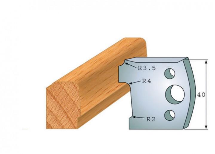 Profilmesser-Paar 130