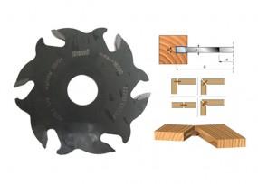 Nutfräser HM 100 x 4 x 22 mm, Z=6