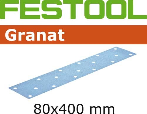 Schleifstreifen STF 80x400 P40 GR/50