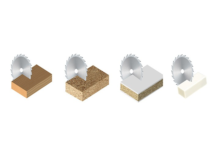 Kreissägeblatt HM 160 x 3,2/2,2 x 20 mm, Z=48
