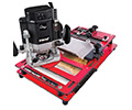 Routing machine for skirting boards