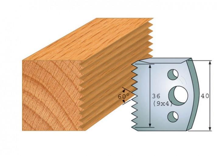 Profilmesser-Paar 117
