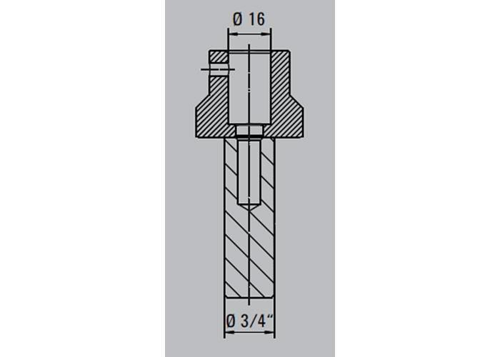 Werkbank Adapter für 3/4