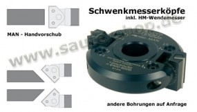 Schwenkmesserkopf 120 mm