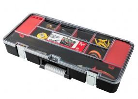 Werkzeugkoffer mit Aufbewahrungsfächern