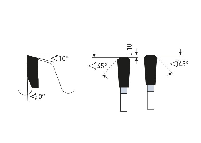 Kreissägeblatt HM 350 x 2,4/2,0 x 30 mm= Z=100