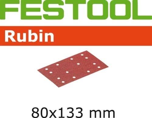 Schleifstreifen STF 80X133 P100 RU2/50