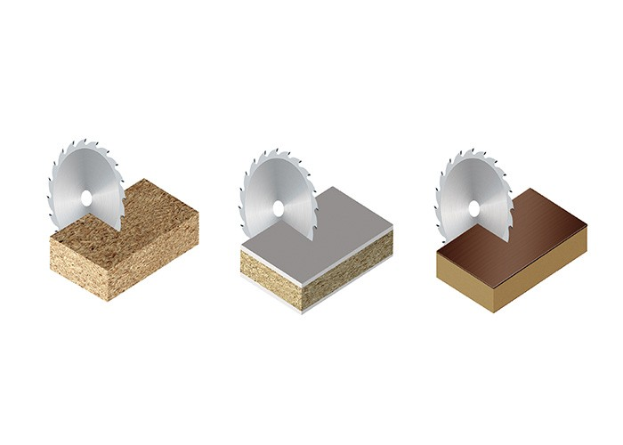 Kreissägeblatt HM 350 x 4,4/3,2 x 60 mm, Z=72