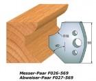 Profilmesser-Paar 562