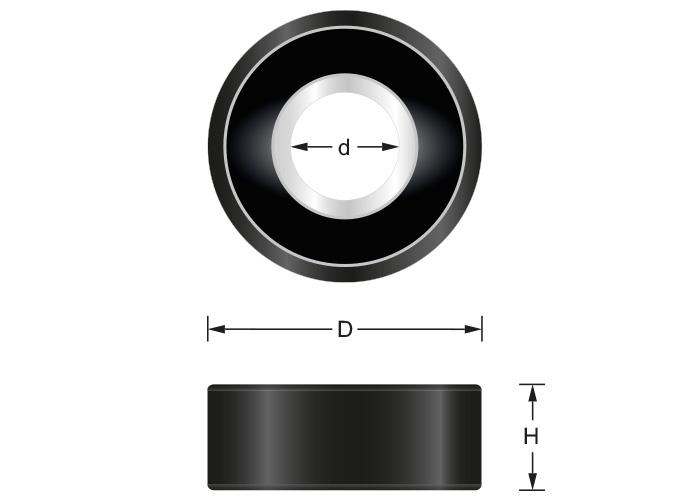 40 Stück Haupa Rohrkabelschuhe Standard verzinnt 35mm² M10 290970