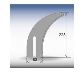 Spaltkeil CASOLIN 228 x 83 mm