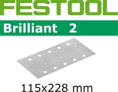 Schleifstreifen STF 115x228 P40 BR2/10