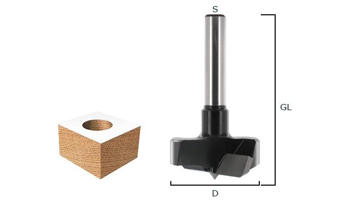 Zylinderkopfbohrer HW (HM)