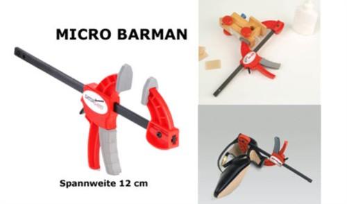 Einhandzwinge Micro-Barman 12 cm