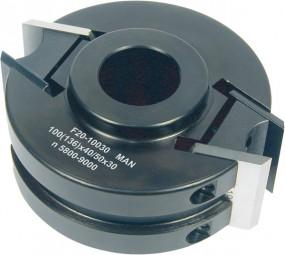 Universal Fräskopf D 100 mm Stahl MAN
