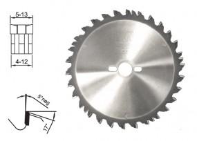 Verbreiterungsset für Dado Kreissägeblatt-Set D 250 mm