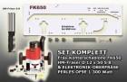 Set: Frässchablone FK650-OF9E