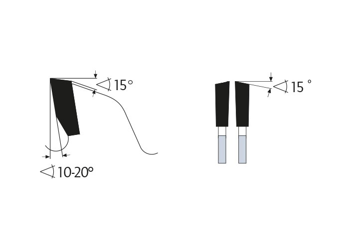 Kreissägeblatt HM 190 x 1,8/1,2 x 30/20 mm, Z=76
