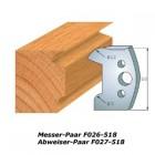 Profilmesser-Paar 510