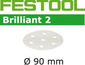 Schleifscheiben STF D90/6 P400 BR2/100