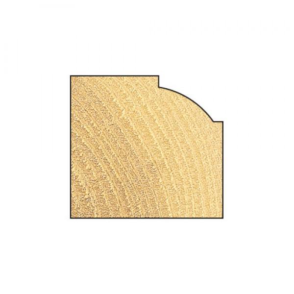 flacher Viertelstabfräser