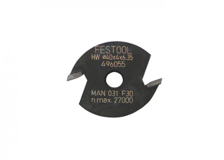 Ersatzschlitzfräser HW D40x4 KL