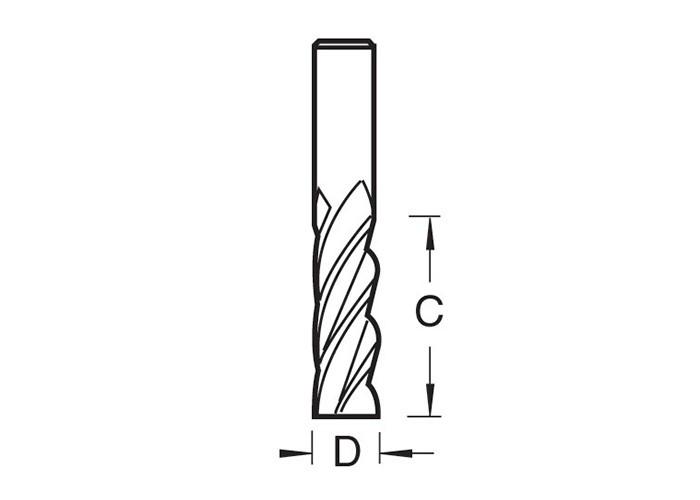 HSS 4 Spiral Nutfräser