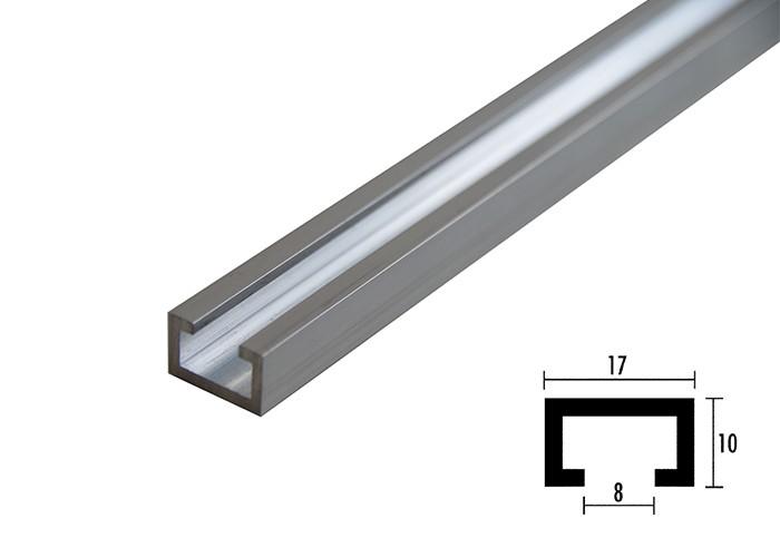 sauter Profilschiene ELOXIERT - 350 mm