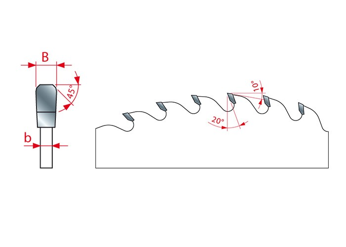 Kreissägeblatt HM 300 x 3.0/2.0 x 30 mm, Z=48