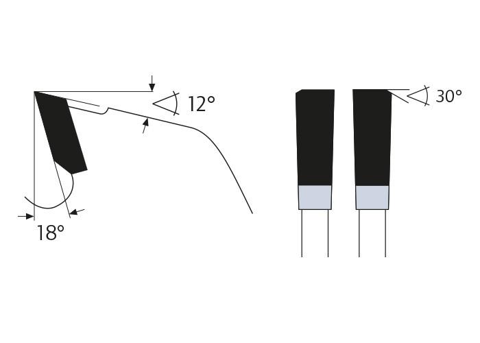 Kreissägeblatt HM 315 x 3,2/2,2 x 30 mm, Z=24