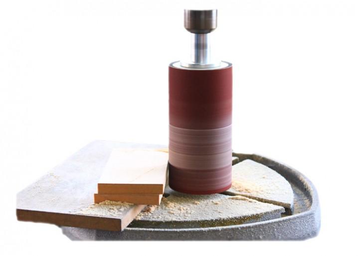 Schleifzylinder für Bohrmaschinen D 76 x 150 mm
