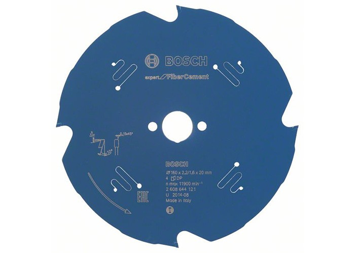 Kreissägeblatt DIA 190 x 2,2/1,6 x 30 mm, Z=4
