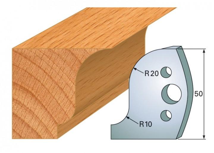 Profilmesser-Paar 570