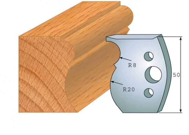 Profilmesser-Paar 502