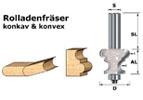 Rollladenfräser konkav & konvex