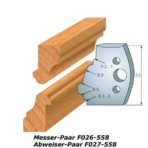Profilmesser-Paar 552