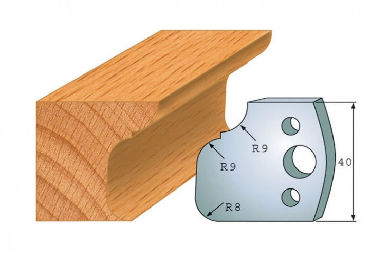 Profilmesser-Paar 068