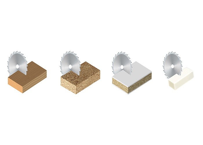 Kreissägeblatt HM 200 x 2,2/1,6 x 30 mm, Z=64