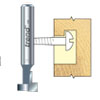 Keyhole routing cutter