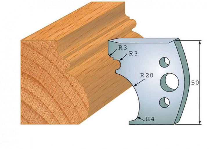 Profilmesser-Paar 501