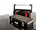 Toolboxes universal & empty