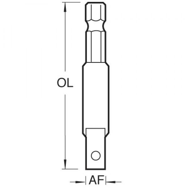 Vierkant-Adapter für Steckschlüssel