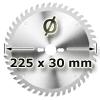 Kreissägeblatt <br/>Ø 225 x 30mm