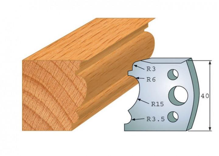 Profilmesser-Paar 104