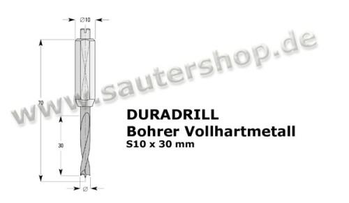 DURADRILL Bohrer VHM